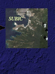 Subic Map location 2